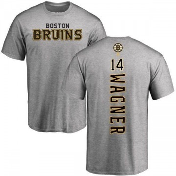 Men's Chris Wagner Boston Bruins Backer T-Shirt - Ash